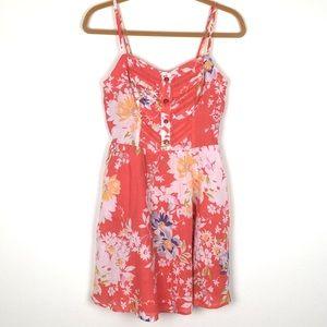 LC Lauren Conrad Floral Sundress 6